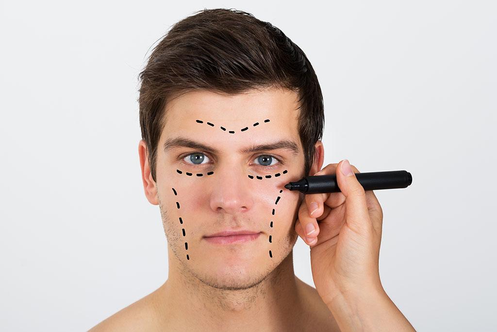 Cirugía estética facial para hombres en A Coruña